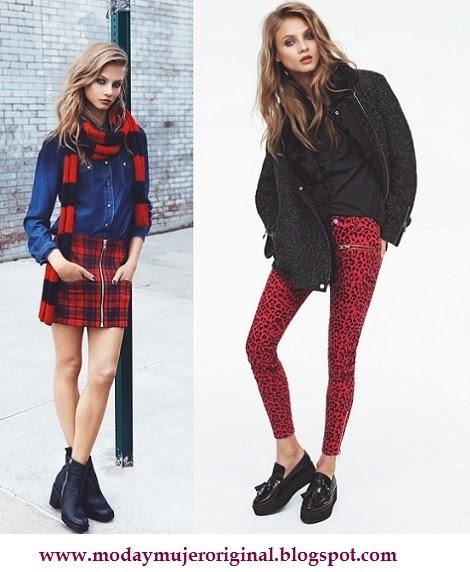 el rojo y los botines presentes