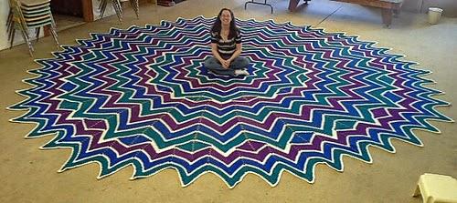 crochet-tapis-vitrail