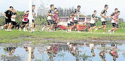 Malaysia Vs Thailand - Separuh Akhir Ke Dua Suzuki Cup 2012