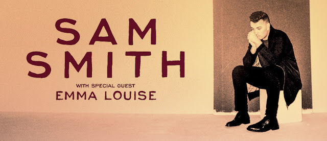 Sam Smith Australian Tour 2015