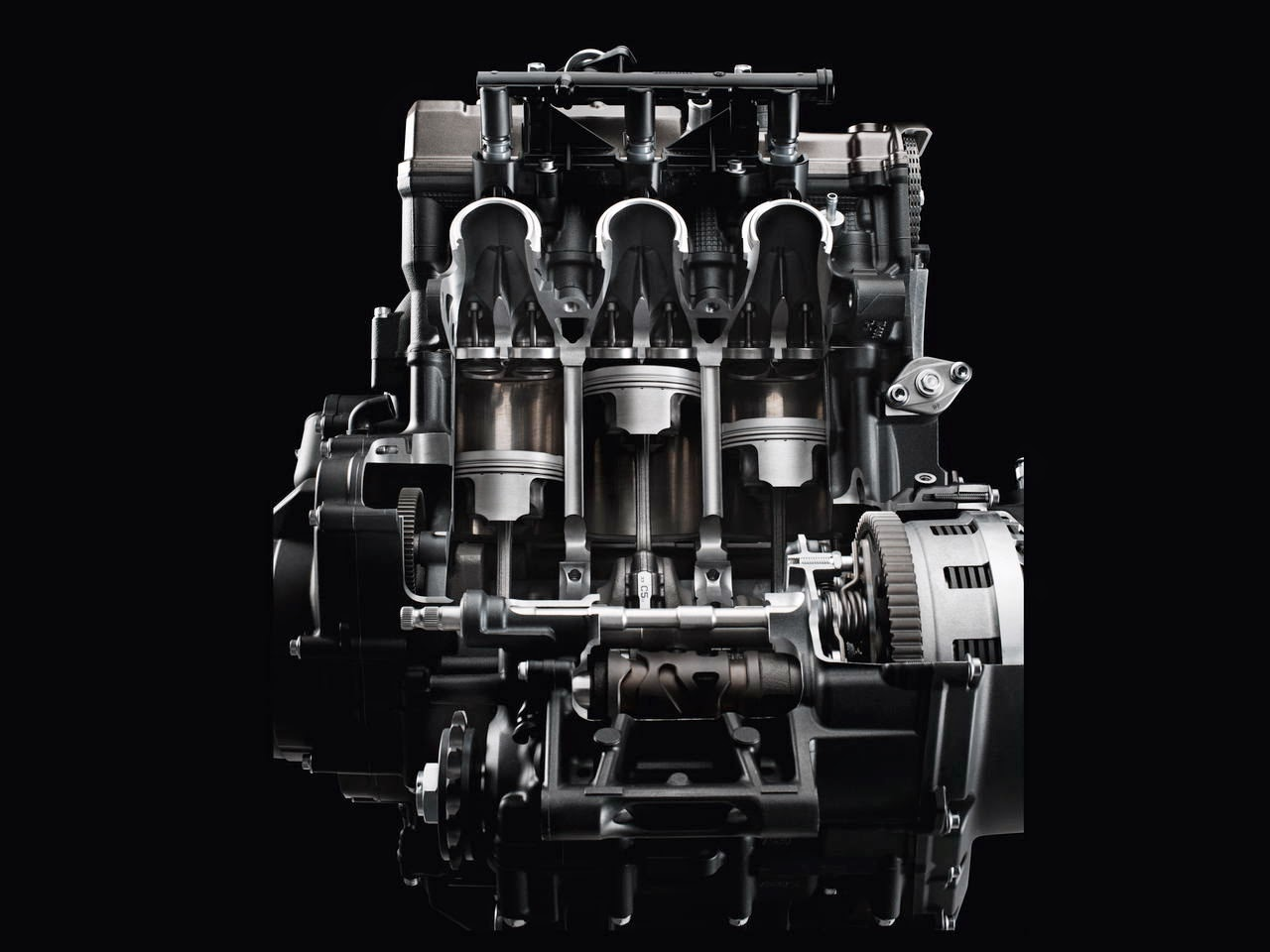 3 cylinder, triple inline, yamaha mt 09
