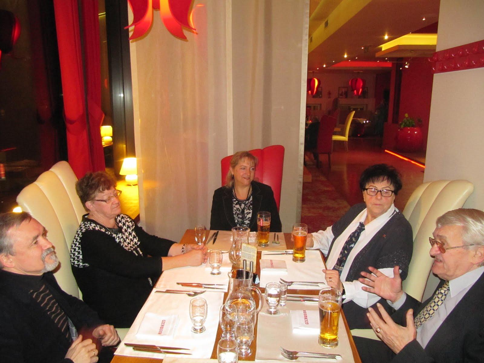 """W restauracji """"Czerwona"""" w Chorzowie"""