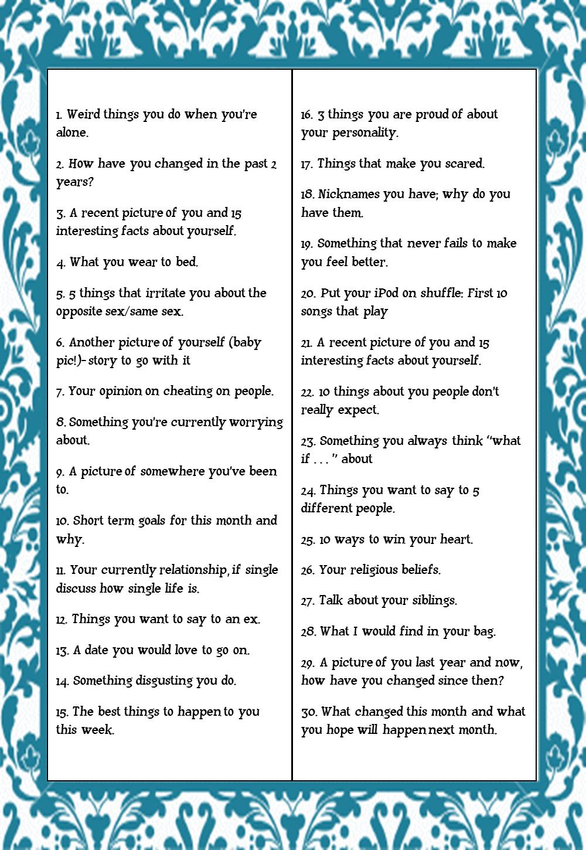 Diary of an Aspiring Curvy Diva: 30-Day Blog Challenge
