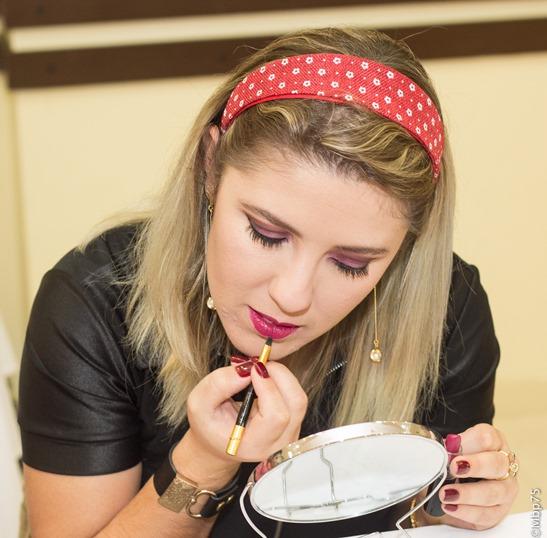 Curso Automaquiagem - Luciane Ferraes - Curitiba 23/05/2015