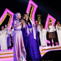 Fatin and Shena perform di acara Tablig AKBAR Idul Adha