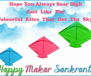 Makar Sankranti HD Quotes for whats app