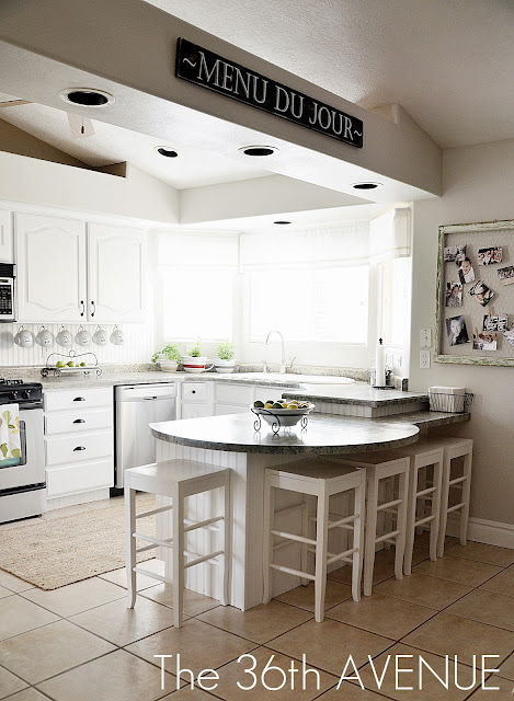 One Of The Projects I Recently Did In White Was My Kitchen
