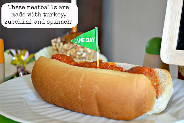 Mommy Testers turkey meatballs with veggies for tailgating from Smart and Final #ChooseSmart