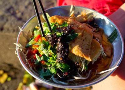 (Gỏi đu đủ bò khô) - Green Papaya Salad with Beef Jerky