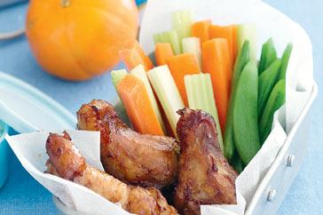 Mini Chicken And Vegetable Platter Recipe