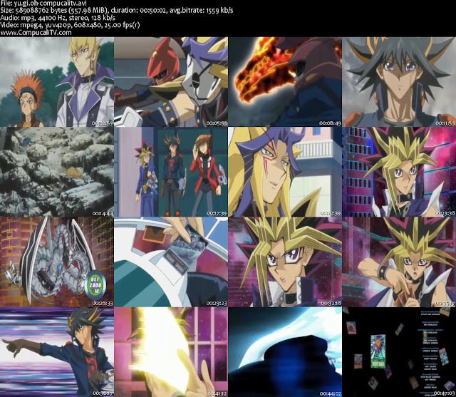Capturas Yu Gi Oh Beyond Time DVDRip Latino