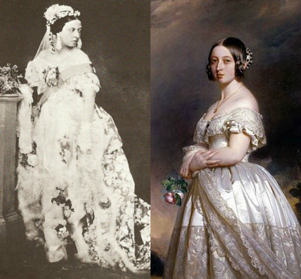 Before Queen Victoria Brides Wore Their Sunday Best Which Was Commonly A Blue Or Gray Dress So That It Could Be Easily Re Worn For Other Occasions