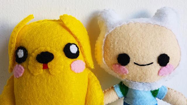 How to Make an Adventure Time Finn plushie tutorial