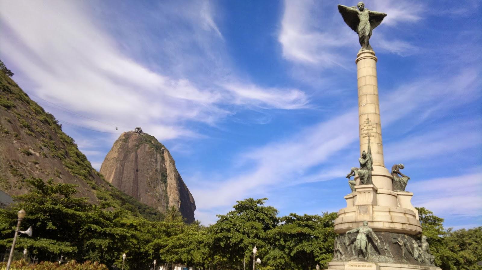 Pão de acúcar, Rio de Janeiro - vista da Praia Vermelha