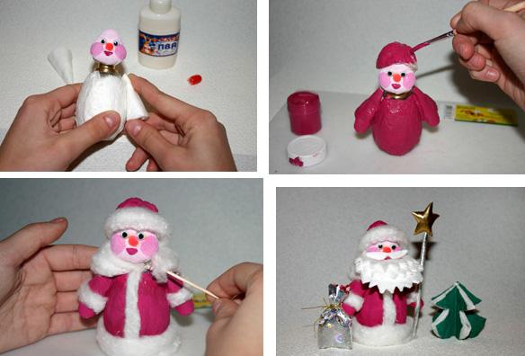 Как легко сделать новогоднюю игрушку своими руками из бумаги