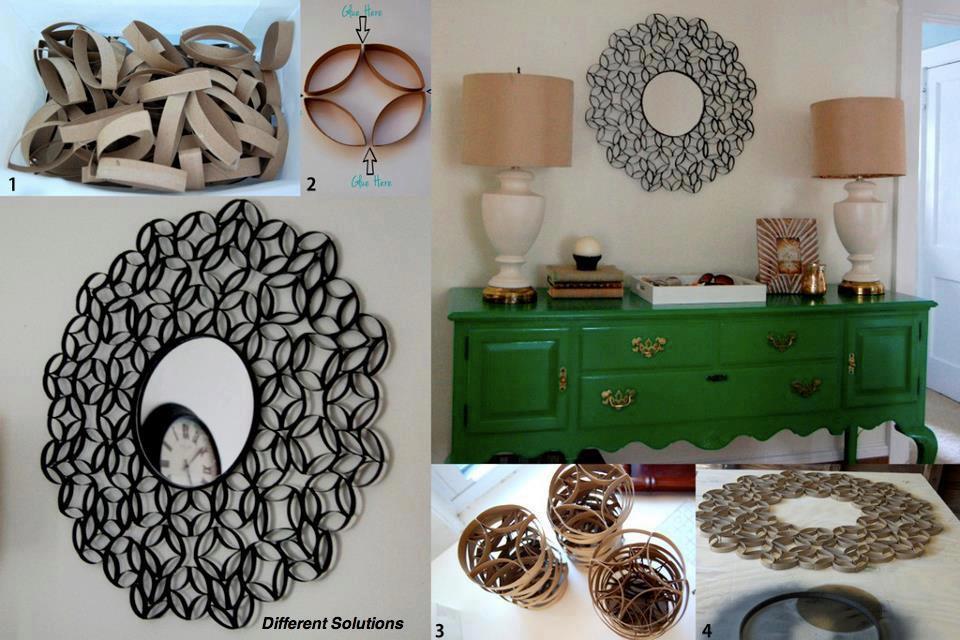 Decorar interiores reutilizando materiales ...