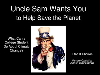 Uncle Sam Wants You to Help Save the Planet