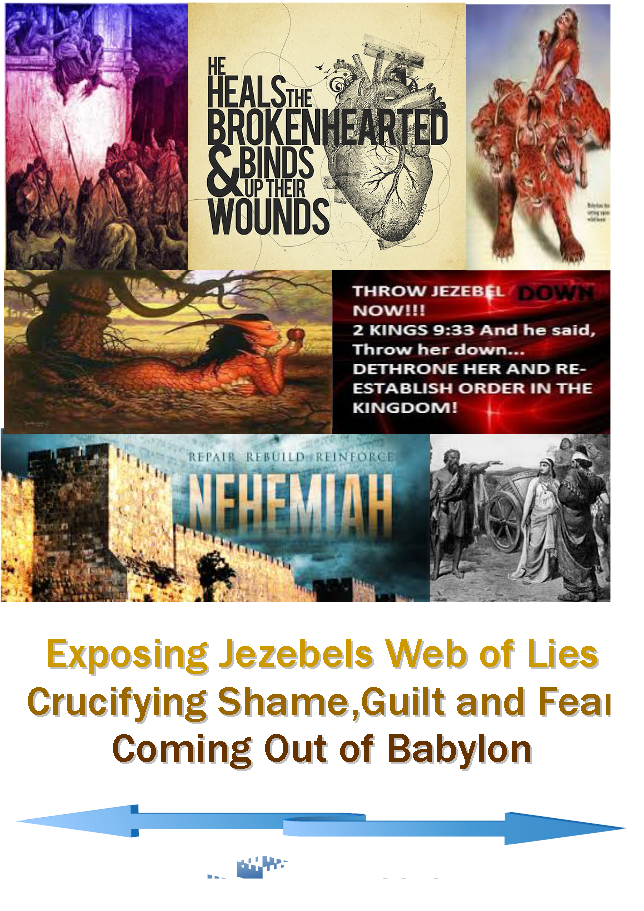 Exposing Jezebels Web of Lies-Crucifying Fear,Guilt & Shame-Coming out of Babylon
