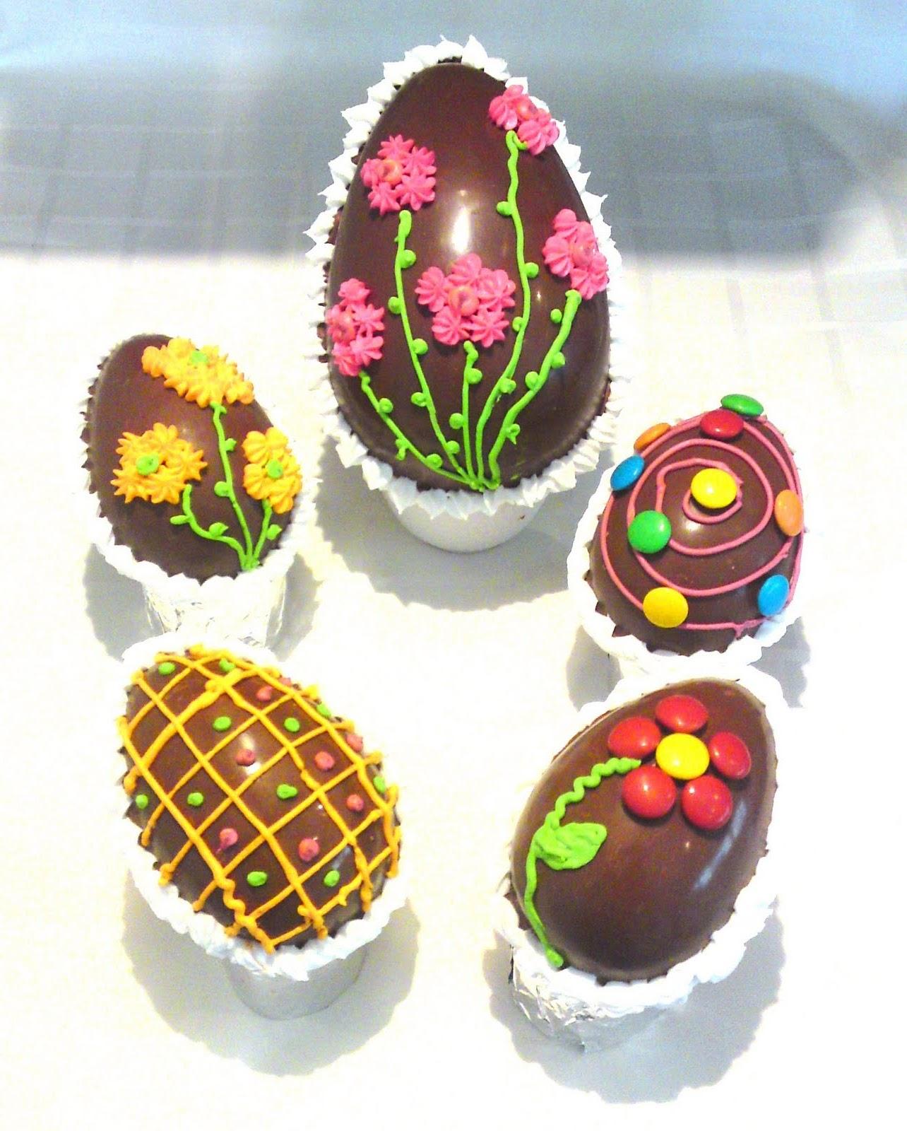 Receta de pascua huevos de pascua recetas de cocina - Huevos decorados de pascua ...