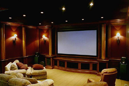 Home theater rooms design best home design room design interior and exterior - Home theater room designs ideas ...