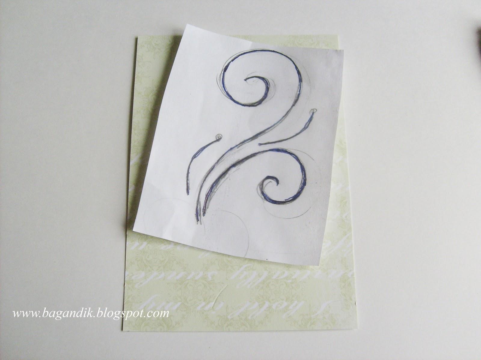 Вышивка из бисера на бумаге