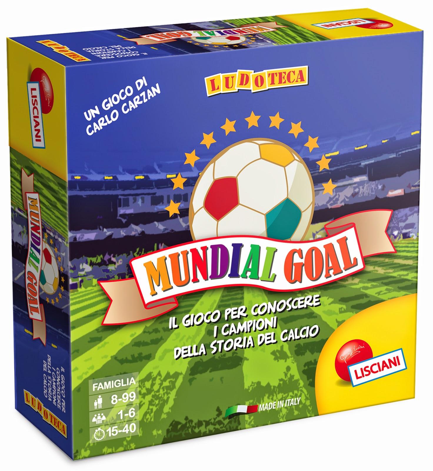 mundial goal : giochiamo ai mondiali con lisciani