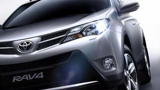 2013 Toyota RAV4 Gün Işığına Çıktı