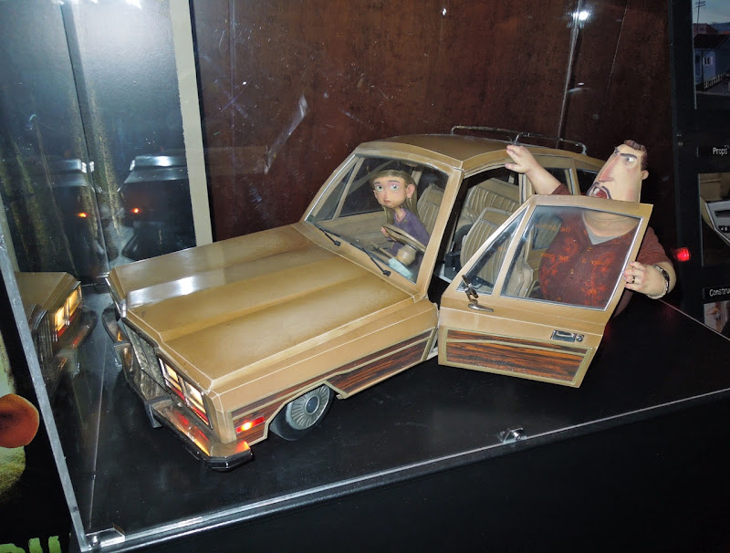 ParaNorman car puppets