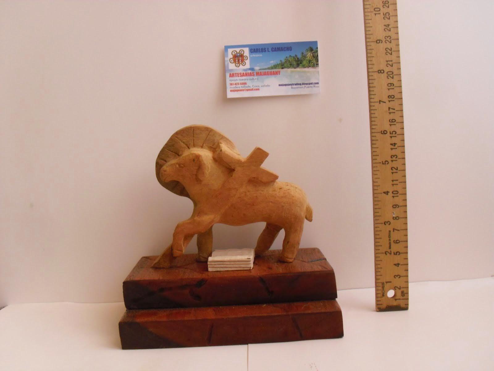 Holy Lamb wooden