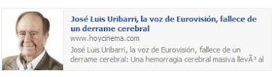 Hoy Cinema, de Vocento, recogió la noticia