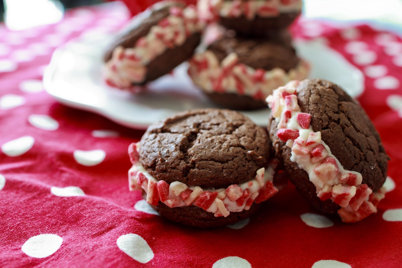 Chocolate-Peppermint Cookies Recipe — Dishmaps