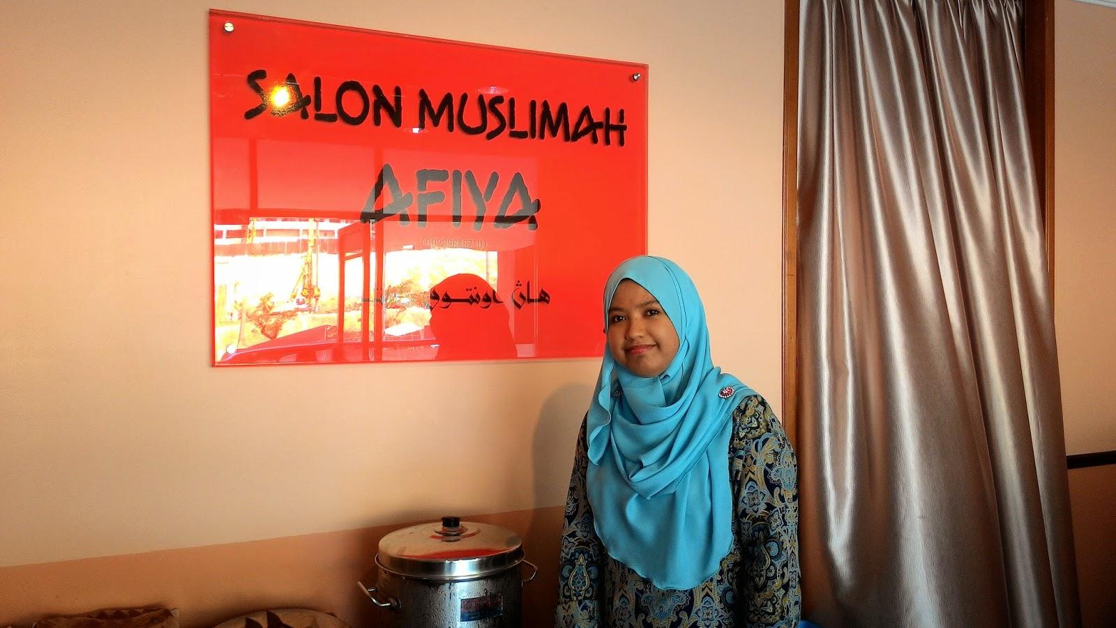 Salon Ini Di Buka Untuk Semua Wanita Islam Atau Tidakasalkan Anda Hehehe