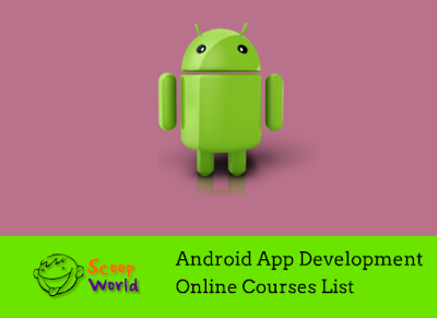 Courses to start android programming