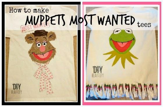DIY Muppets Tees www.diybeautify.com
