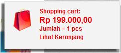 shopping chart toko online