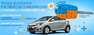 Participar da promoção Shell e Caixa 2015
