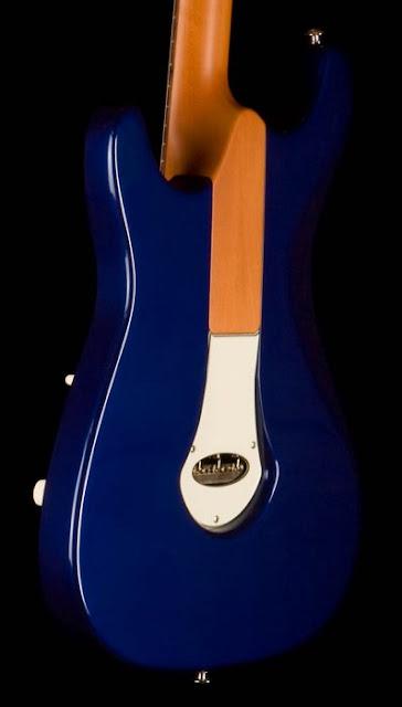 Cp Thornton Guitars bolt neck design