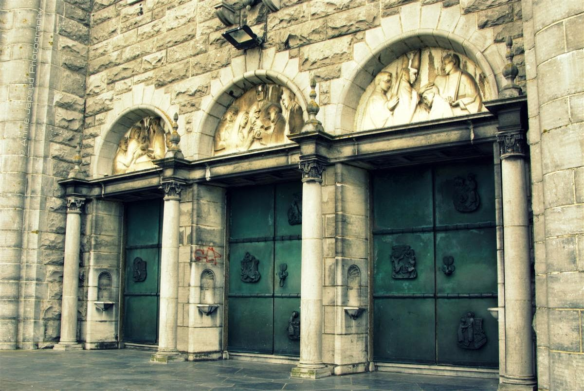 Galway city cathedral doors