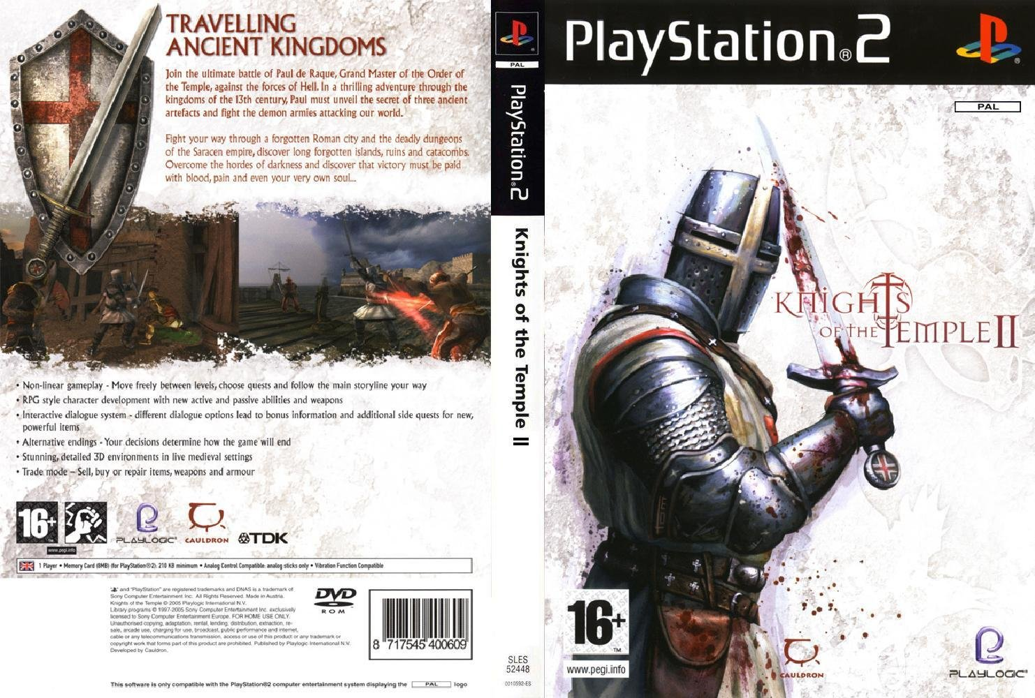 Knights of the Temple 2 - PS2 | PAL |