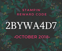 Stampin' Reward Code