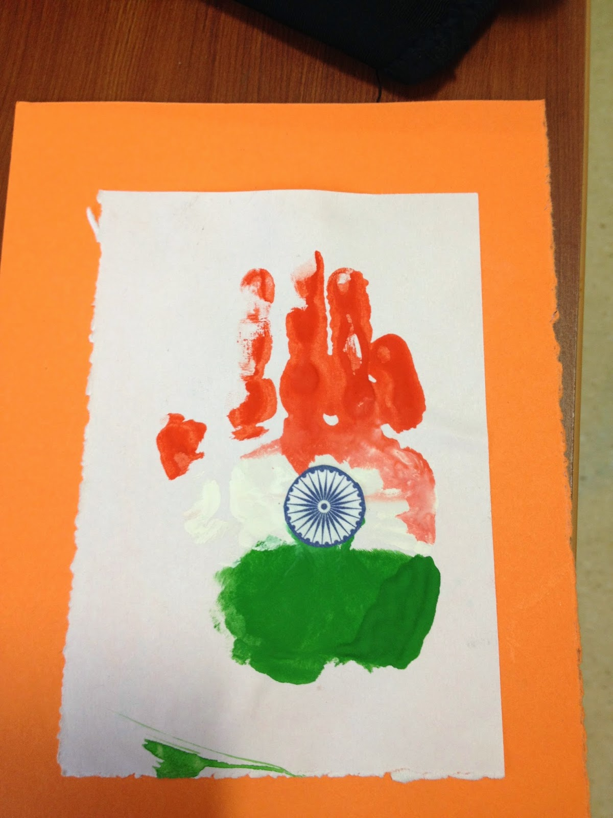 Art N Craft Activities For Independence Day