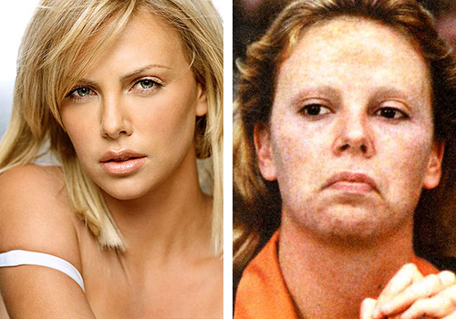Charlize Theron Monster Makeup