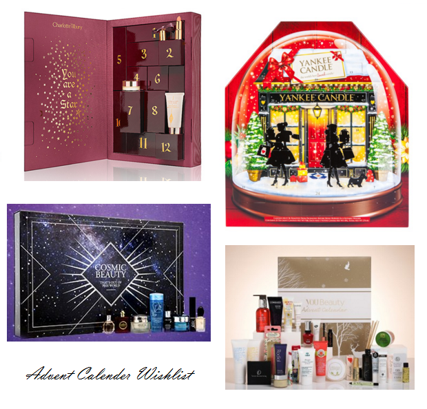 Picture of a Beauty Advent Calendar Wishlist