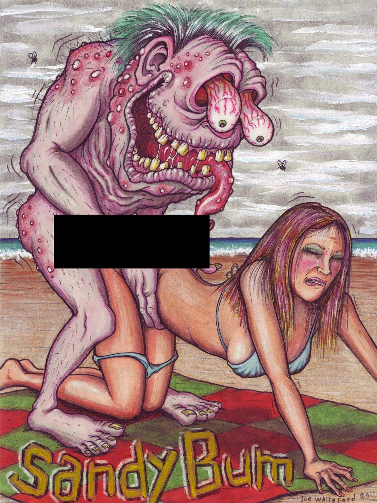 Postcards artwork erotic couples