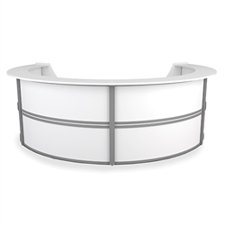 U Shaped Reception Desk from OFM