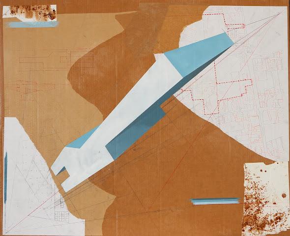 Etructura VII 86 x 110 cm 2011