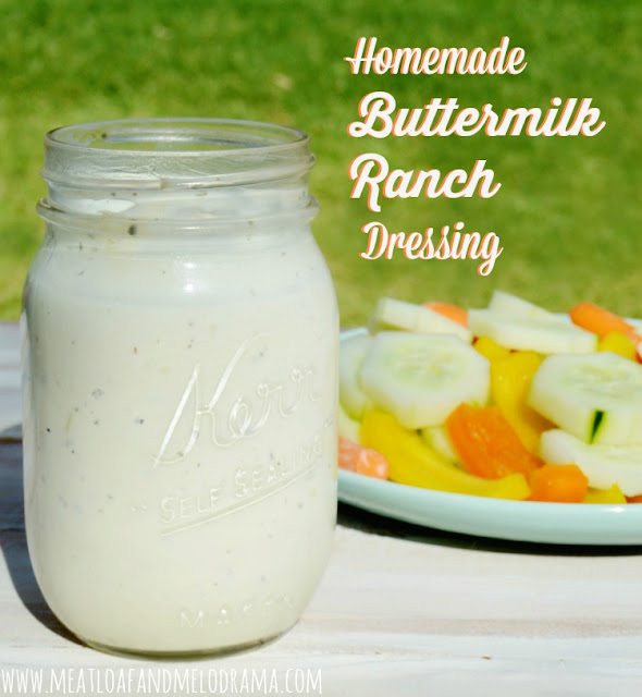 buttermilk ranch salad dressing recipe