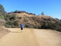 Nearing the head of Western Canyon, Griffith Park