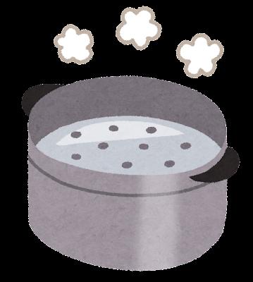 蒸し器のイラスト