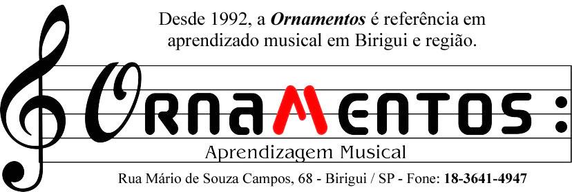 Ornamentos Aprendizagem Musical